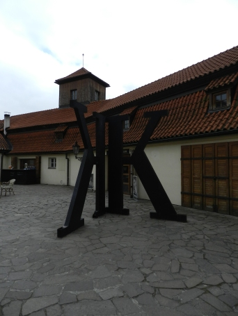 entrance to the Kafka Museum