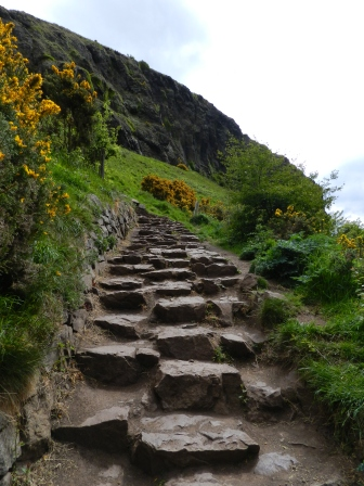 the steep way up