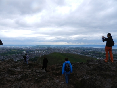 Edinburgh from King Arthur's Seat