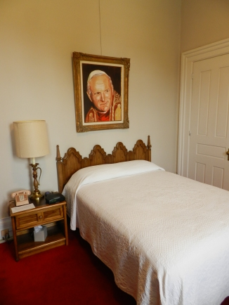 the room JPII stayed in when he visited Orchard Lake
