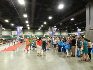 book signing lines